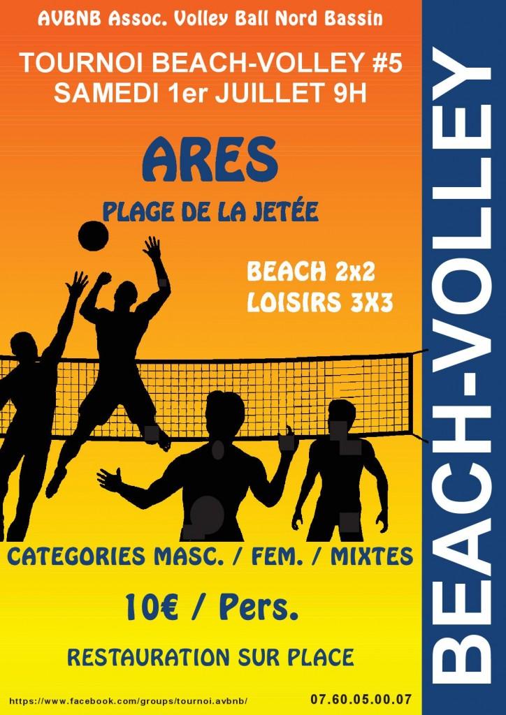 Affiche tournoi ARES_2017